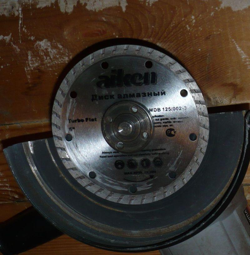 Алмазный диск для резки керамогранита и не только...
